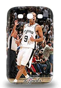 Top Quality Protection NBA San Antonio Spurs Tony Parker #9 3D PC Case Cover For Galaxy S3 ( Custom Picture iPhone 6, iPhone 6 PLUS, iPhone 5, iPhone 5S, iPhone 5C, iPhone 4, iPhone 4S,Galaxy S6,Galaxy S5,Galaxy S4,Galaxy S3,Note 3,iPad Mini-Mini 2,iPad Air )