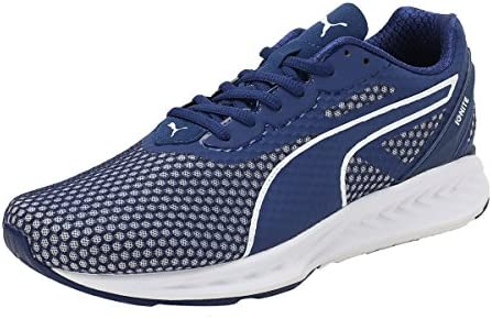 newest 0c65d 0d1c5 Puma IGNITE 3 Running Shoes for Men Blue & White Size 46 EU ...