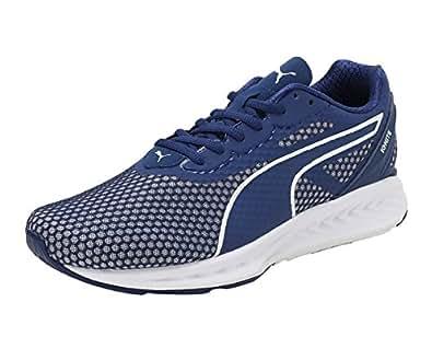 Puma IGNITE 3 Running Shoes for Men Blue & White Size 44.5 EU