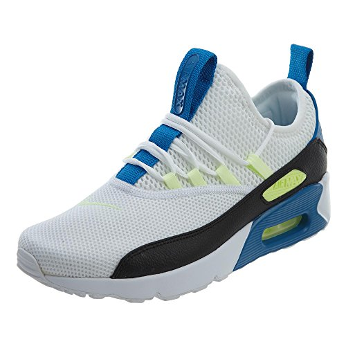 NIKE Women's Air Max 90 EZ White/Black/Blue Nebula Running Shoe 9 Women ()