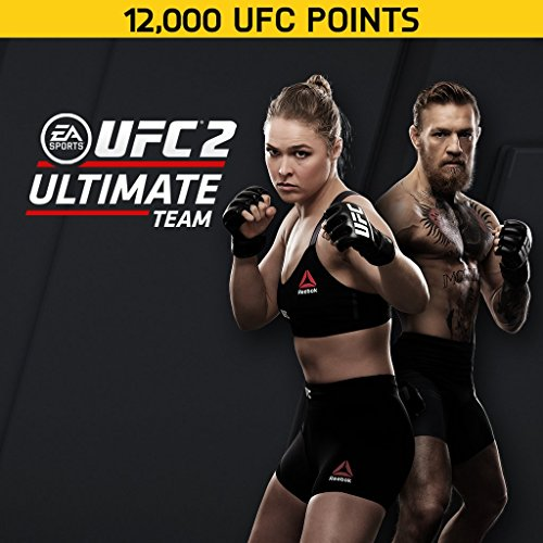 EA Sports UFC 2: 12000 UFC Points - PS4 [Digital Code] by Electronic Arts