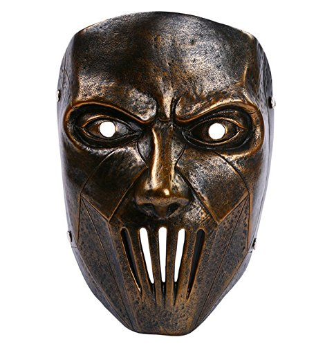 Gmasking Resin Mick Thomson Cospaly Mask 1:1 Replica+Gmask Keychain -