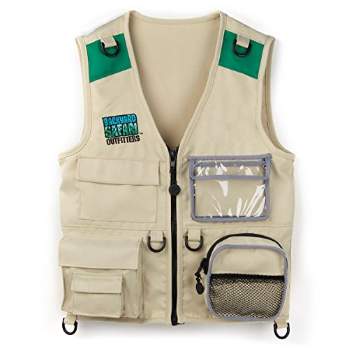 Kids Cargo Vest makes fun camping activities kids love and adults will too to keep from being bored with fun camping ideas for kids