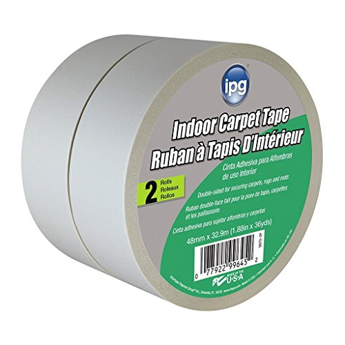 - IPG Double-Sided Indoor Carpet Tape, 1.88