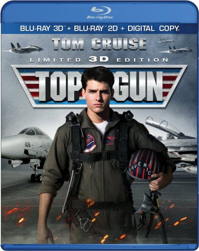 Blu-ray 3D : Top Gun (With Blu-Ray, Ultraviolet Digital Copy, 2 Pack, 3 Dimensional, Digital Copy)