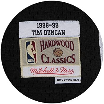 a170b9023 Tim Duncan San Antonio Spurs Mitchell and Ness Men s Black Throwback Jesey. Tim  Duncan San Antonio Spurs Mitchell and Ness Men s Black Throwback Jesey 5X-  ...