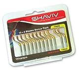 SHAVIV 29258 E100P Deburring Blades (Pack of 10 Blades + 2 Bonus E100P Blades)