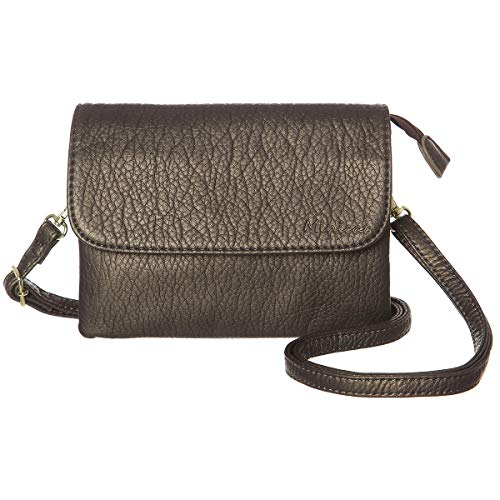 MINICAT Women RFID Blocking Small Crossbody Bags Credit Card Slots Cell Phone Purse -