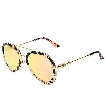 WKAIJC Polygon Farbfilm Mode Individualität Kreativität Mode Freizeit Reflexion Sonnenbrillen Sonnenbrillen,B
