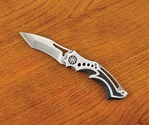 STAINLESS STEEL NINJA STYLE FOLDING KNIFE