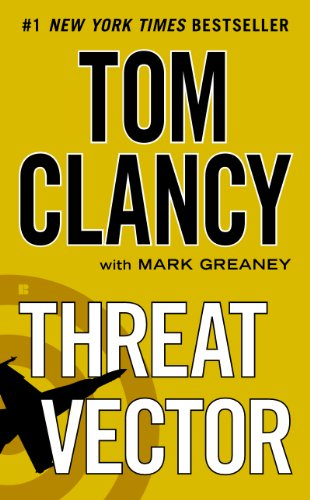 Threat Vector (Jack Ryan, Jr. Series Book 13) by [Clancy, Tom, Greaney, Mark]