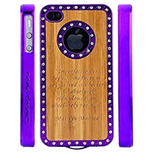 "Boho Tronics TM Custom Luxury Bling Logo Case with Monroe ""Imperfection"