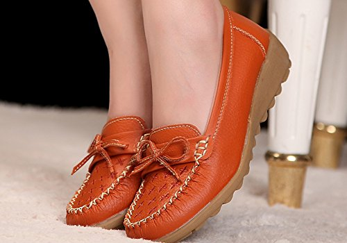 Espadrillas Arancione 35 Orange HiTime Donna vaqdBx7w