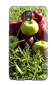 Tpu Case Cover Compatible For Galaxy Note 3/ Hot Case/ Fresh Apples