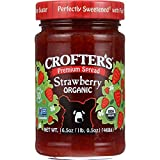 Crofters Fruit Spread - Organic - Premium - Strawberry - 16.5 oz - Pack of 6