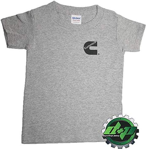 Cummins toddler t shirt youth girl kids dodge infant childs short sleeve 3t Pink