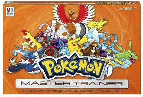 Pokemon Master Trainer Game by Milton Bradley: Amazon.es: Juguetes y juegos