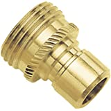 09QCMGT Green Thumb Brass Male Connector for Hose