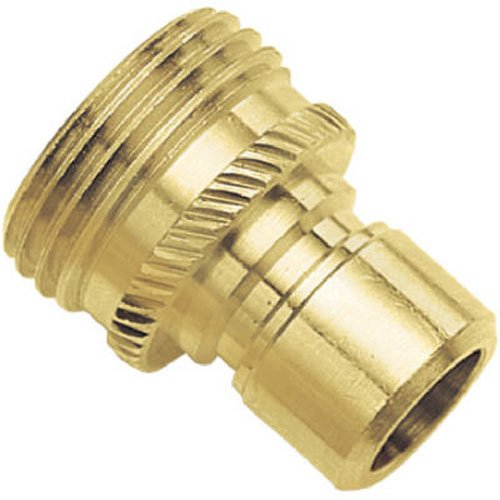 Green Thumb 09QCMGT Brass Male Connector for Hose
