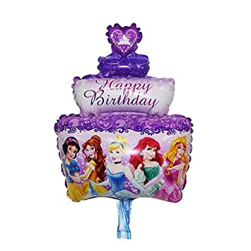 Xxpwj Free Shipping Mini Cartoon Baby Cake Aluminum Balloons Birthday Party Balloons Wholesale Childrens Toys A Wide Selection Of Colours And Designs Home & Garden Ballons & Accessories