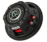 Massive Audio UFO10, 10 Inch Shallow Subwoofer - High Powered 600 Watt Shallow Mount Subwoofer, (3 Inch Voice Coil Dual 4 Ohm) Low Profile Car Subwoofer with Deep Bass. Sold Individually