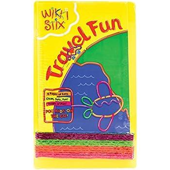 Wikki Stix Travel Fun Pak of Molding & Sculpting Sticks