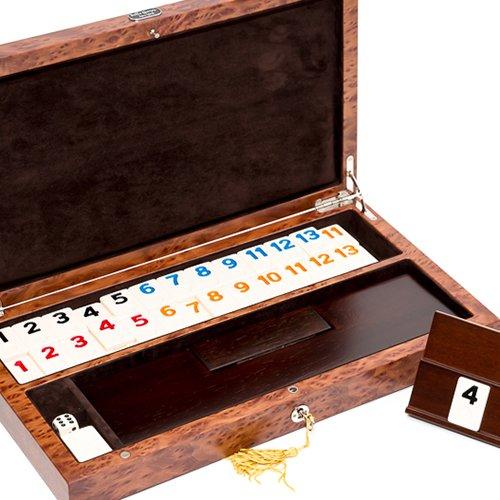 (Bello Collezioni - Via Del Pucci Luxury Rummy Set with Briarwood Case from)