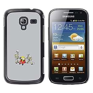 A-type Arte & diseño plástico duro Fundas Cover Cubre Hard Case Cover para Samsung Galaxy Ace 2 (Divertido Conductor Borracho)