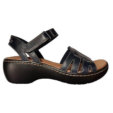 c0b52738b3d Clarks Womens Delana Nila Leather Sandals 26131505  Amazon.co.uk ...