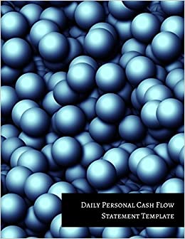 Amazon Com Daily Personal Cash Flow Statement Template