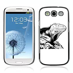 Designer Depo Hard Protection Case for Samsung Galaxy S3 / Cool Lizard Tattoo