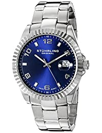 Stuhrling Original Men's 'Symphony' Swiss Quartz Stainless Steel Dress Watch (Model: 499.33116)