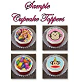 12 EDIBLE Disney Frozen Cupcake Toppers or Cookie