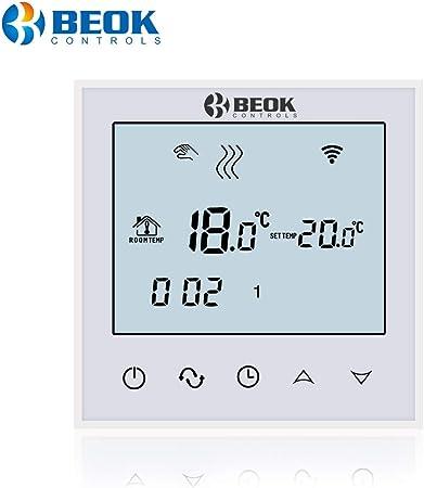 Wi-Fi Thermostat Chauffage Film Chauffage Tapis Contrôleur de Température Mode 24 H
