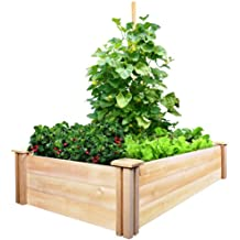 greenes Valla de cedro Raised Garden Kit 2ft. X 4ft. X 10.5in.