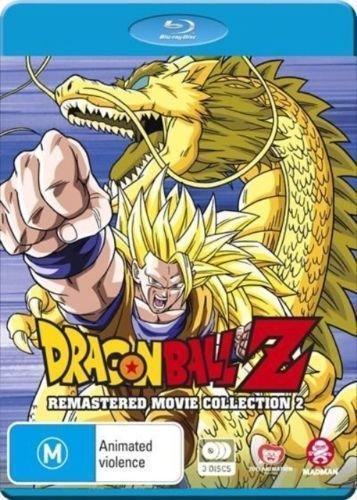 Dragon Ball Z Remastered Movie Collection 2 | 3 Discs | Anime & Manga | NON-USA Format | Region B Import - Australia