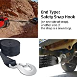 """Boat Trailer Winch Strap 2"""" x 20' with Hook"""