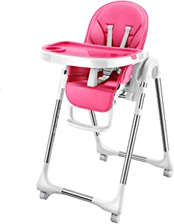 Foldable Highchair Booster Seat Children's Dining Chair Multifunctional Baby Dining Chair Reclining Eating Seat Desk Chairs, Suitable for 0-4 Years Old