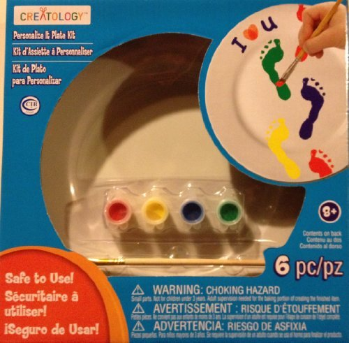 Creatology Personalize It Plate Kit -