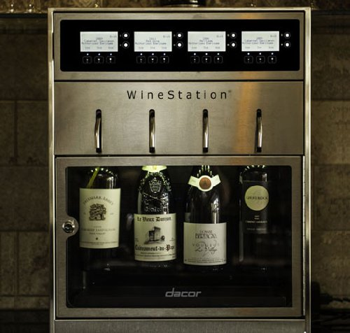 dacor-dyws4-discovery-20-winestation-4-bottle-wine-dispenser-with-thermo-electric-cooling-system