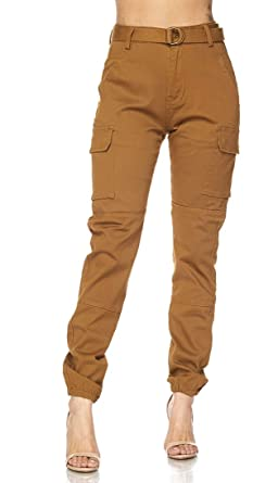 4964da985 Image Unavailable. Image not available for. Color: Women's Classic Soft  Comfy Drawstring Jogger Pants S-3XL