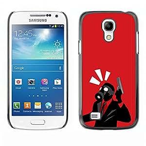 A-type Arte & diseño plástico duro Fundas Cover Cubre Hard Case Cover para Samsung Galaxy S4 Mini i9190 (NOT S4) (Spy Psycho - B0Rderlands juego del juego de Tf)