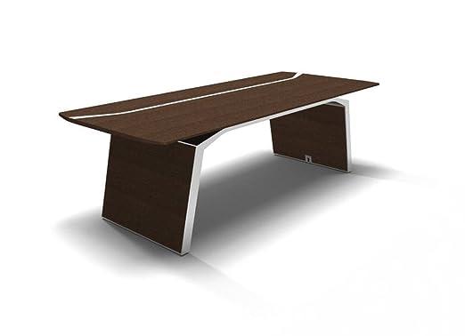 Büromöbel weiß chrom  Luxus Schreibtisch Metar, Design Büromöbel, Chefschreibtisch ...
