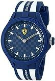 Ferrari Men's 0830193 Pit Crew Analog Display Quartz White Watch