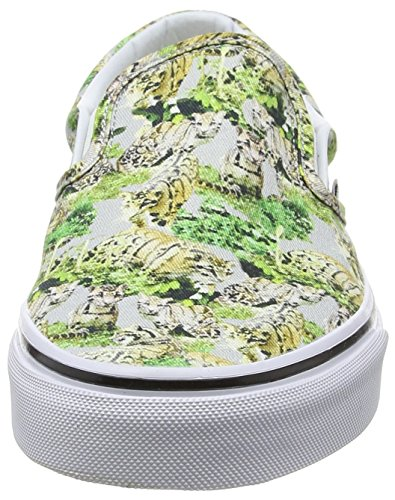 Adulte on Multicolores Classique L Vans Baskets chambray Slip Unisexe RqHwWWznf6
