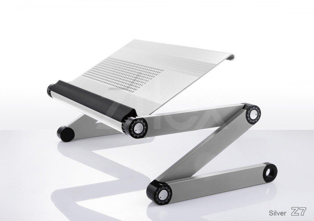 マルチテーブル ジーフレックス zflex/シルバー B019Q3WKSG  シルバー
