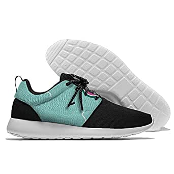 Watermelon Pattern Men's Mesh Running Shoes Sneakers Lightweight Athletic Workout Fitness Sports Shoes Trainers 42