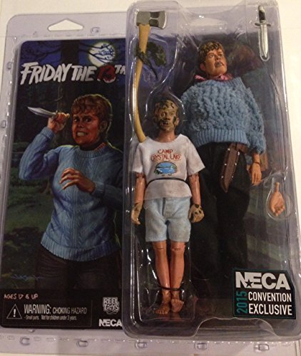 "NECA Friday the 13th Pamela Voorhees & Young Jason Exclusive 8"" Clothed Action Figure"