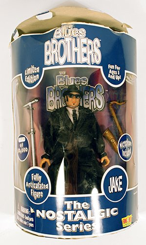 "Limited Edition ""Jake"" Blues Brothers Action Figure,The Nostalgic Series - #01678 0f 50,000"