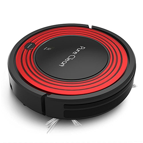 Pure Clean Automatic Robot Vacuum - Programmable Cleaner...